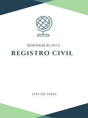 cover image of Registro Civil