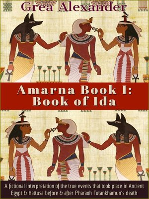 cover image of Book of Ida: A fictional interpretation of the true events that took place in Ancient Egypt & Hattusa before & after Pharaoh Tutankhamun's death