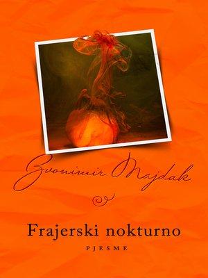 cover image of Frajerski nokturno