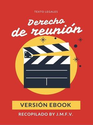 cover image of Derecho de reunión