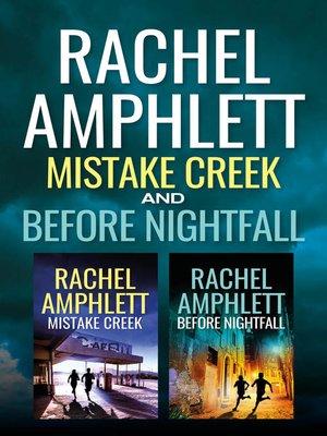 cover image of Mistake Creek / Before Nightfall