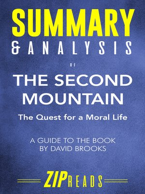 cover image of Summary & Analysis of the Second Mountain