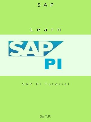 cover image of Learn SAP PI