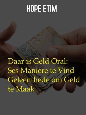 cover image of Daar is Geld Oral