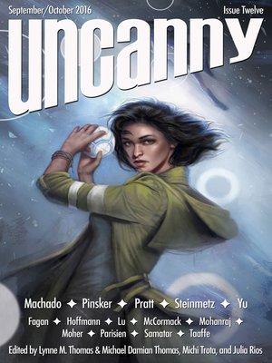 cover image of Uncanny Magazine Issue 12