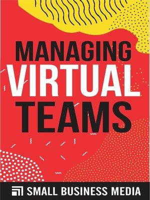 cover image of Managing Virtual teams