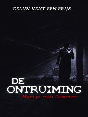 cover image of De Ontruiming