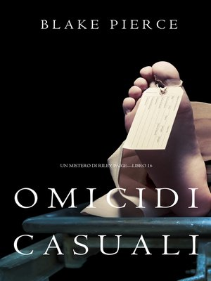 cover image of Omicidi Casuali