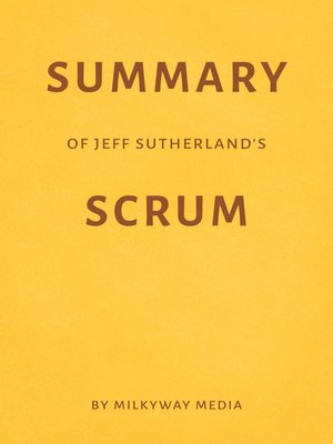 cover image of Summary of Jeff Sutherland's Scrum