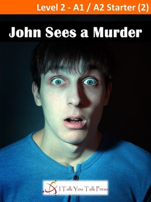 cover image of John Sees a Murder