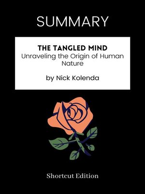 cover image of SUMMARY--The Tangled Mind