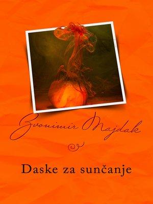cover image of Daske za sunčanje