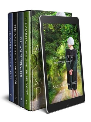 cover image of Amish Romance Boxed Set