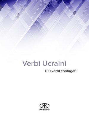 cover image of Verbi ucraini