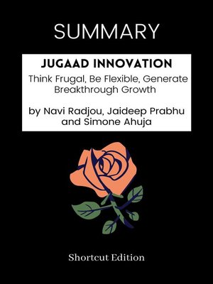 cover image of SUMMARY--Jugaad Innovation