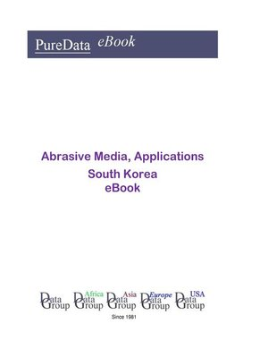 cover image of Abrasive Media, Applications in South Korea