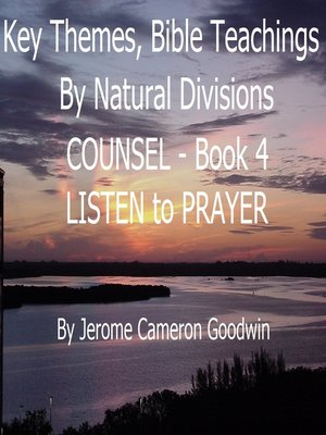 cover image of COUNSEL--LISTEN to PRAYER--Book 4--KTBND