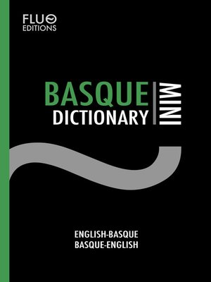 cover image of Basque Mini Dictionary