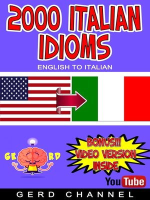 cover image of 2000 Italian Idioms