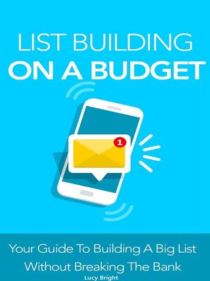 cover image of List Building On a Budget