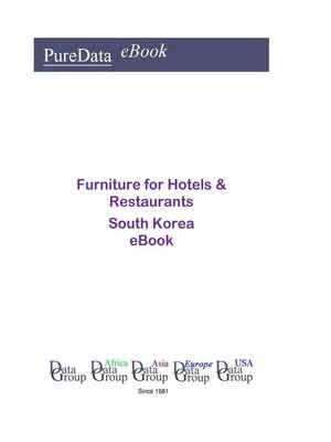 cover image of Furniture for Hotels & Restaurants in South Korea