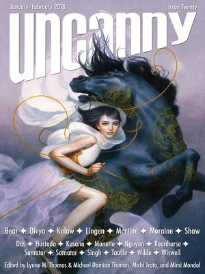 cover image of Uncanny Magazine Issue 20