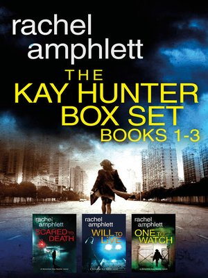 cover image of The Kay Hunter Box Set Books 1-3