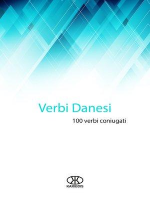 cover image of Verbi danesi