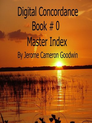 cover image of Master Index--Digital Concordance