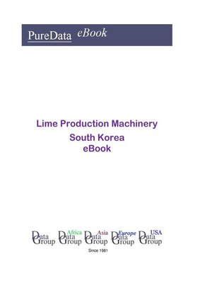 cover image of Lime Production Machinery in South Korea