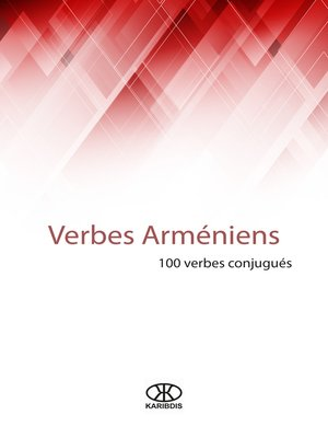 cover image of Verbes arméniens