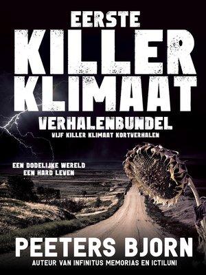 cover image of Eerste Killer Klimaat Verhalenbundel