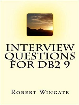 cover image of Interview Questions for DB2 9