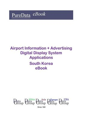 cover image of Airport Information + Advertising Digital Display System Applications in South Korea