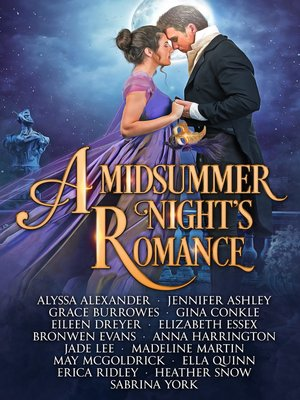 cover image of A Midsummer Night's Romance