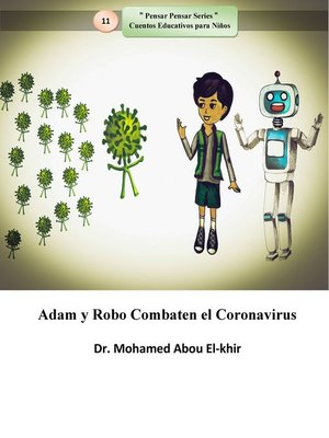 cover image of Adam y Robo Combaten el Coronavirus