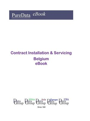 cover image of Contract Installation & Servicing in Belgium