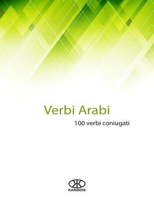 cover image of Verbi arabi