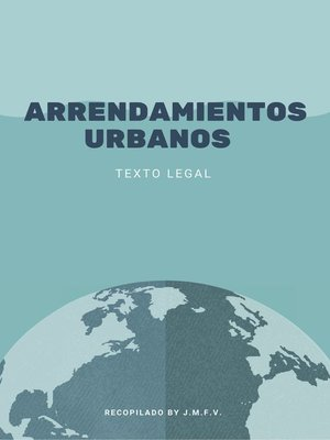 cover image of Arrendamientos Urbanos