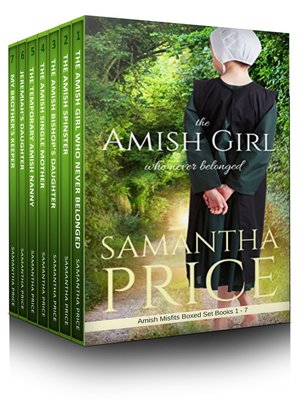 cover image of Amish Misfits Boxed Set