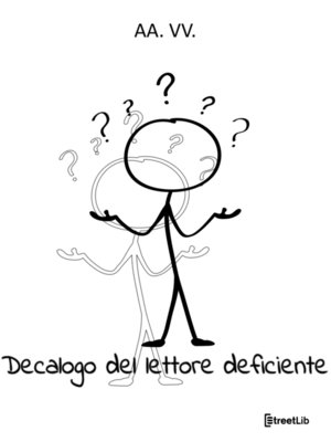 cover image of Decalogo del lettore deficiente