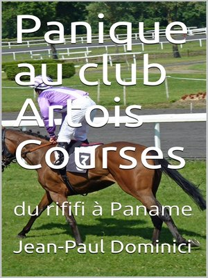 cover image of Panique au club Artois Courses
