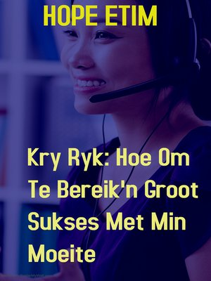 cover image of Kry Ryk