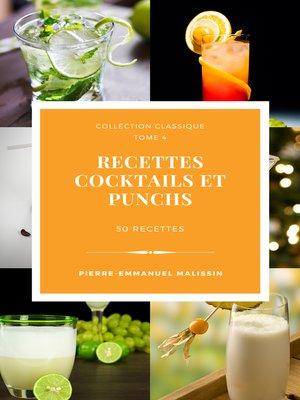 cover image of Recettes Cocktails et Punchs
