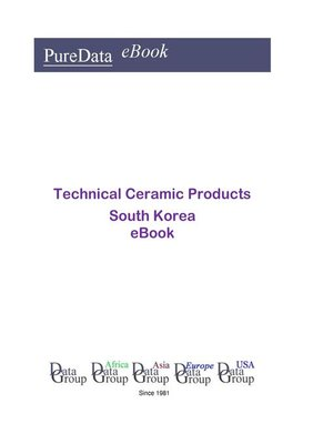 cover image of Technical Ceramic Products in South Korea