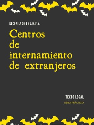 cover image of Centros de internamiento de extranjeros