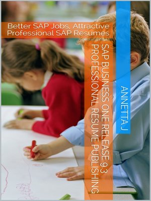 cover image of SAP Business One Release 9.3 Professional Resume Publishing
