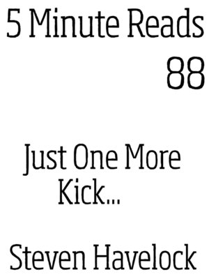cover image of Just one More kick
