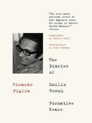 cover image of The Diaries of Emilio Renzi
