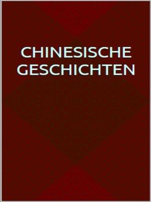 cover image of Chinesische Geschichten